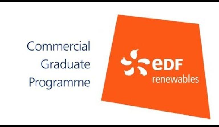 Watch video: Commercial graduate jobs in renewable energy   EDF careers