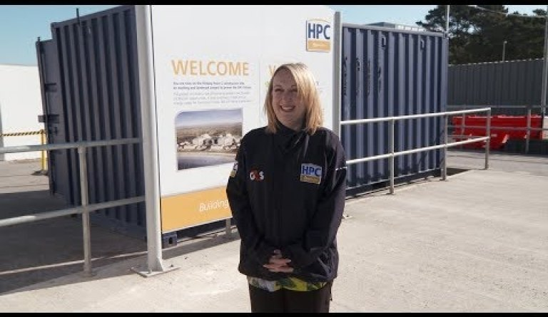 Watch video: Working at Hinkley Point C - Kimberley Donovan