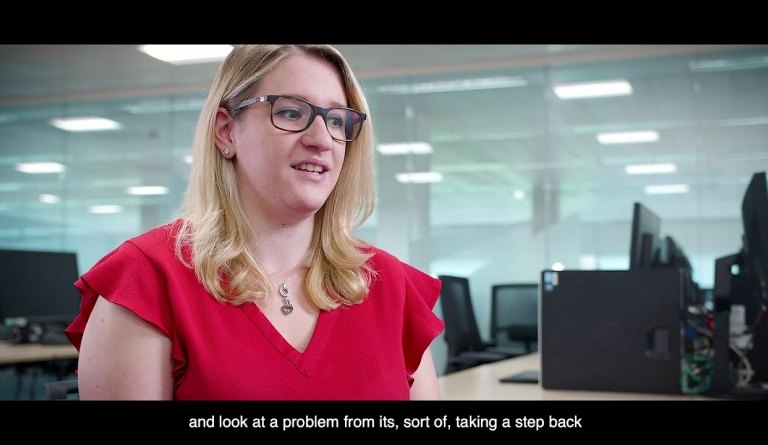 Watch video: Jess Cliff - Reactor Physics and Criticality Engineer