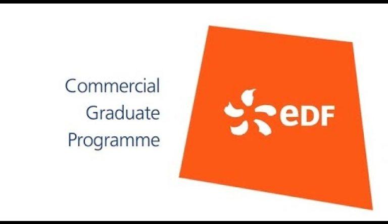 Watch video: Commercial graduate jobs - EDF careers