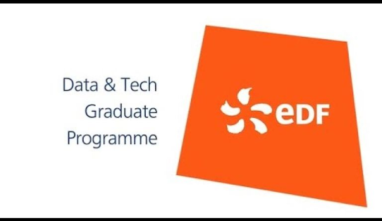 Watch video: Data and tech graduate jobs - EDF careers