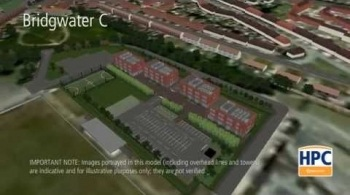 Watch video: Hinkley Point C Associated Development - Bridgwater A and C Accommodation Campus'
