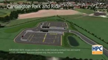 Watch video: Hinkley Point C Associated Development - Cannington Park and Ride