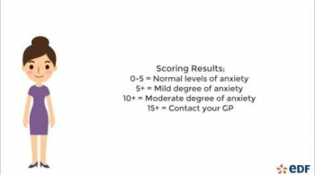Watch video: Anxiety Self Assessment