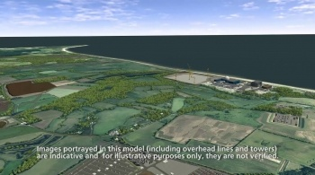 Watch video: Sizewell C | Stage 3 CGI | Main site development