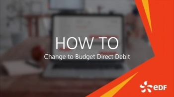 Watch video: How to change your payment to Direct Debit