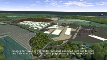 Watch video: Sizewell C | Stage 3 CGI | Accommodation campus