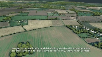 Watch video: Sizewell C | Stage 3 CGI | Green route - post construction