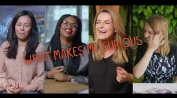 Watch video: #PrettyCurious: What makes you curious? – Meet our role models