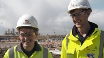Watch video: Working at Hinkley Point C - Cameron and Kyle