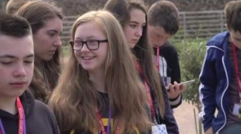 Watch video: Inspiring young people at Hinkley Point C