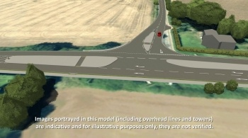 Watch video: Sizewell C | Stage 4 CGI | Highway improvements A12/A144