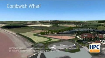 Watch video: Hinkley Point C Associated Development - Combwich Wharf and Freight Laydown