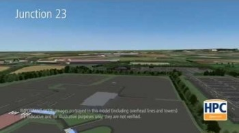 Watch video: Hinkley Point C Associated Development - M5, Junction 23 Park and Ride