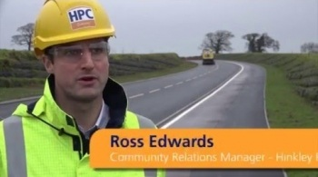 Watch video: New bypass opens as part of Hinkley Point C road improvement works