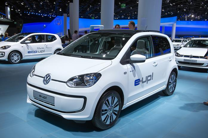 Volkswagen e-Up! electric car