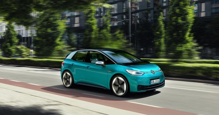 Volkswagen ID.3 electric car