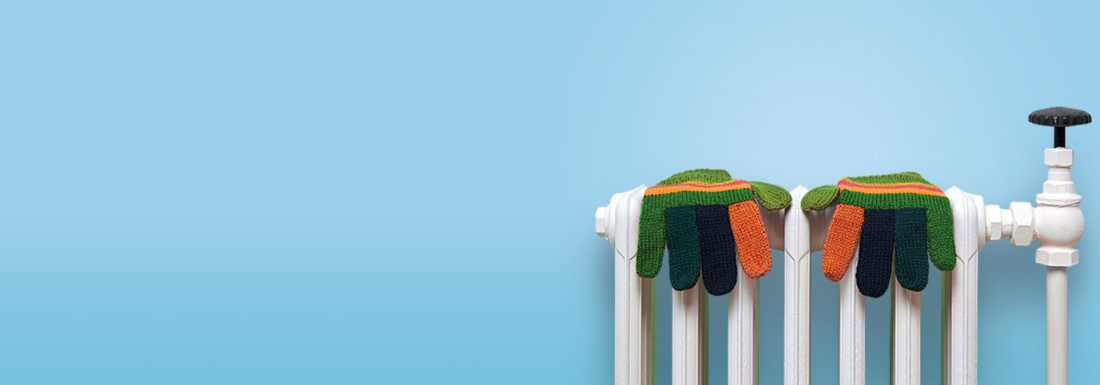 Warrm Home Discount - gloves on a radiator