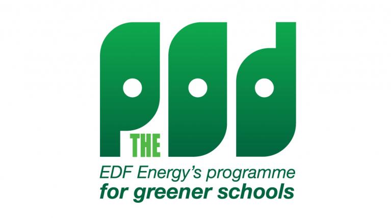Picture of EDF Energy's POD schools programme logo