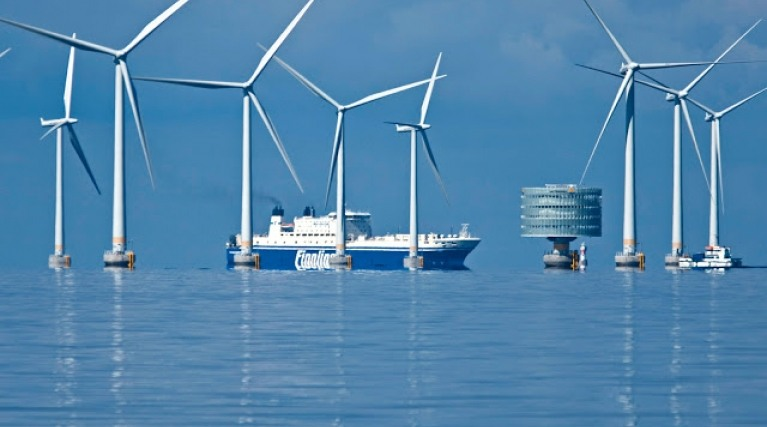 Teeside, offshore wind farm