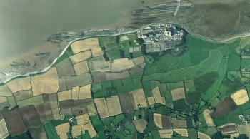 Hinkley Point power station for the air