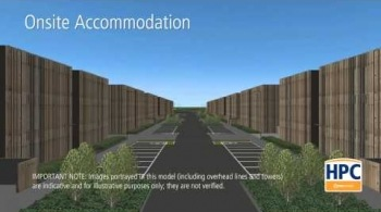 Watch video: Hinkley Point C Associated Development - Onsite Accommodation and Temporary Jetty