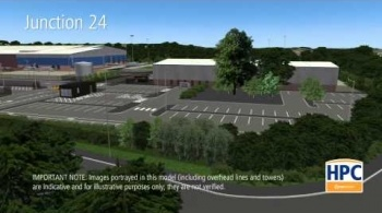 Watch video: Hinkley Point C Associated Development - M5, Junction 24 Park and Ride